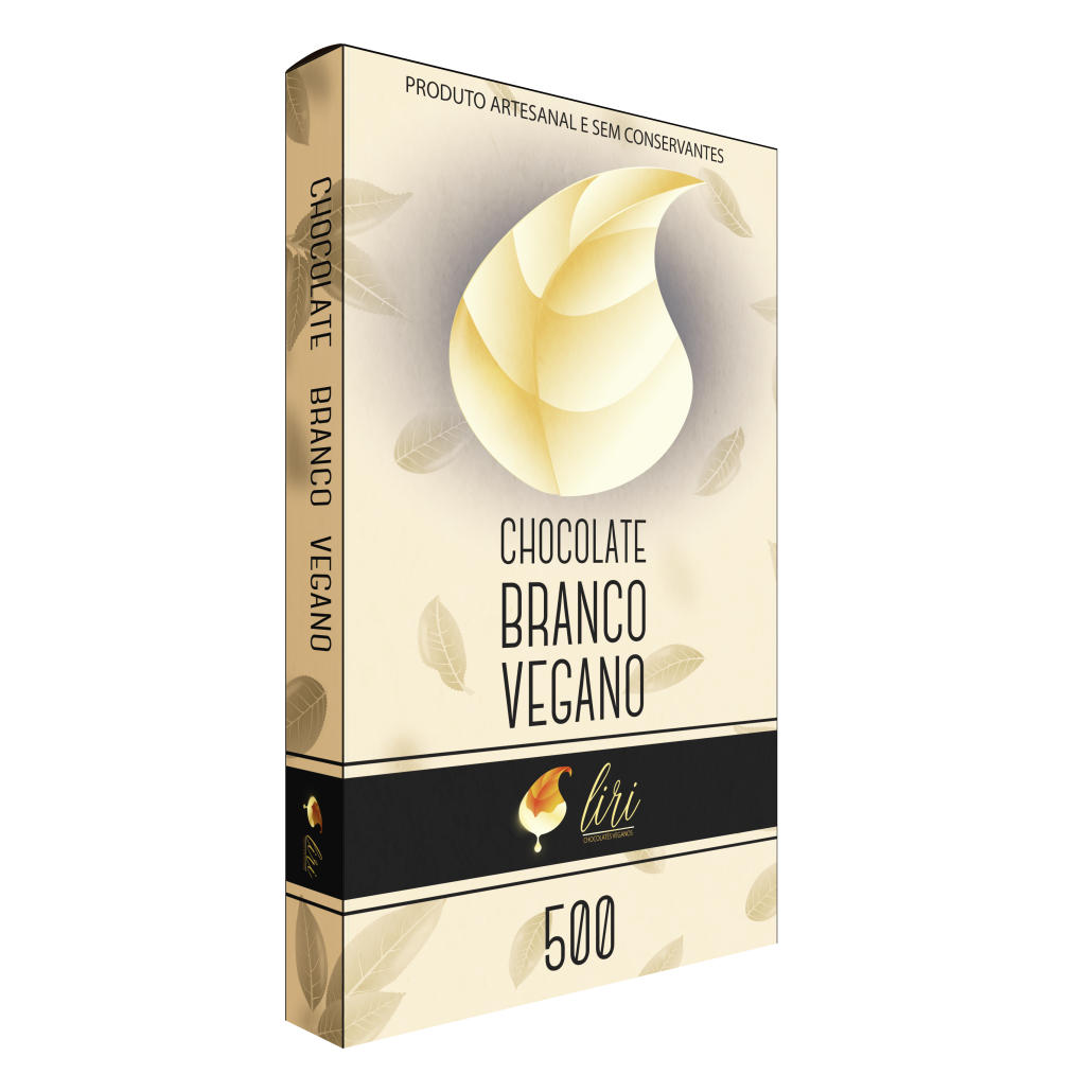 BARRA DE CHOCOLATE BRANCO VEGANO 500 1